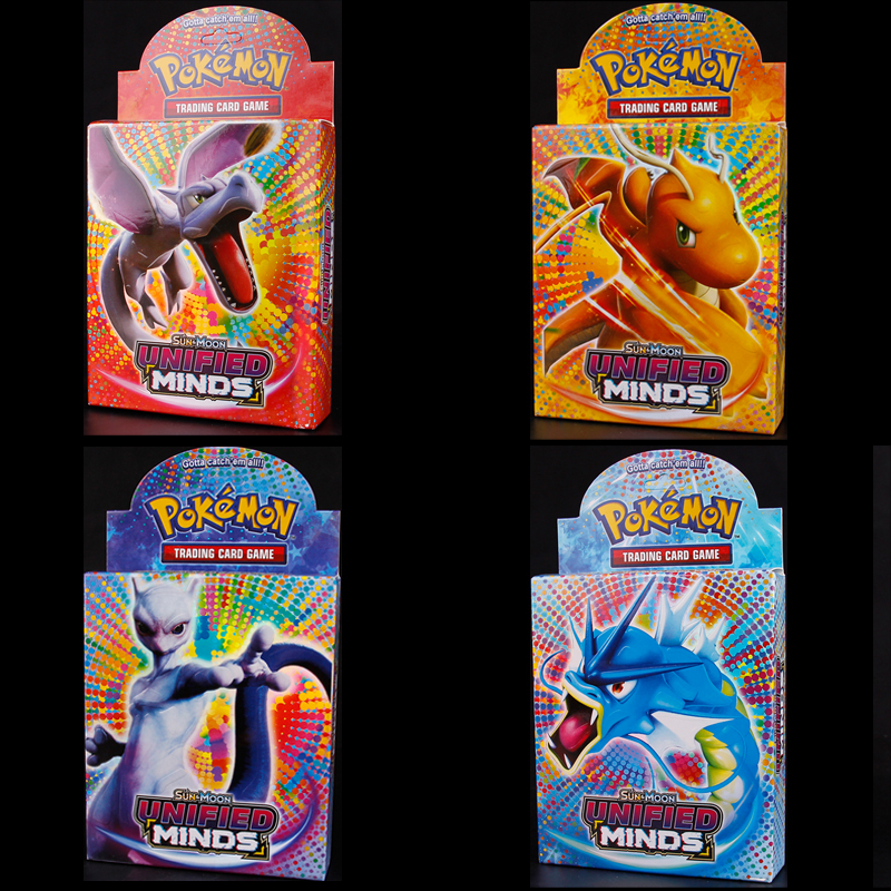 48PCS Cards Per Random Box New POKEMON Card English Version Pokemon Sm11 Ptcg Battle Collection Card Box Kids Toy Gift