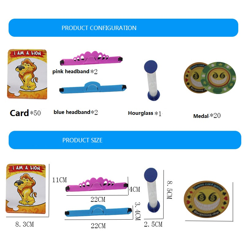 Kids Funny Toys The Quick Question of What am I Cards Board Game Funny Gadgets Novelty Toys For Children (6)