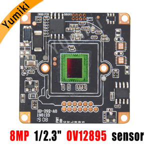 "Image 3 - 8MP 4096*3072 CCTV 8MP kamera modülü kurulu CMOS HD AHD kamera modülü NVP2481H DSP + OV12895/1/2 3 ""sensörü"