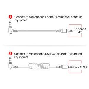 Image 5 - BOYA BY MM1 Microphone sur caméra enregistrement vidéo micro Microfone pour Xiaomi DJI Osmo poche DSLR appareil photo Sony iPhone