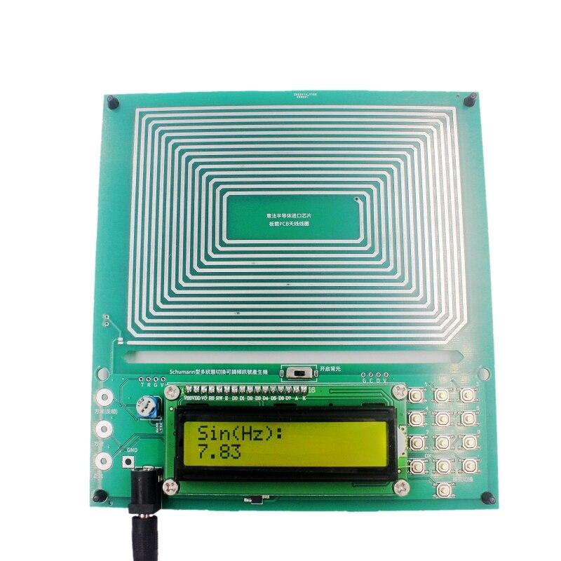 Ressonador audio do gerador da onda do pulso da frequência ultra-baixa da ressonância ajustável 0.1hz 30 30khz 7.83hz schumann