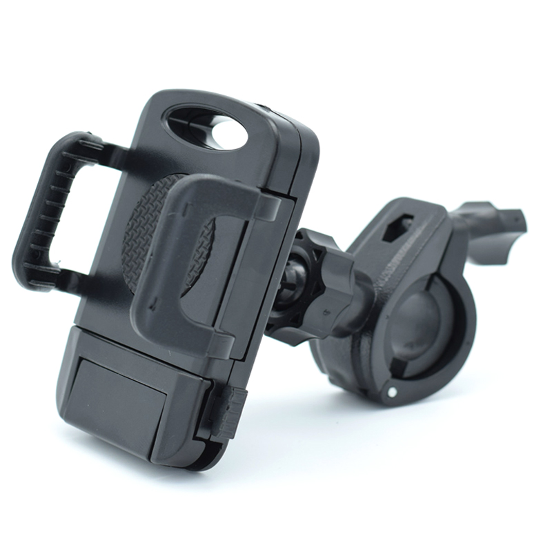 Bike Phone Mount Universal Anti Shake Bicycle Cellphone Holder Cradle for Motorcycle Handlebars with 360° Rotation for iPhone x
