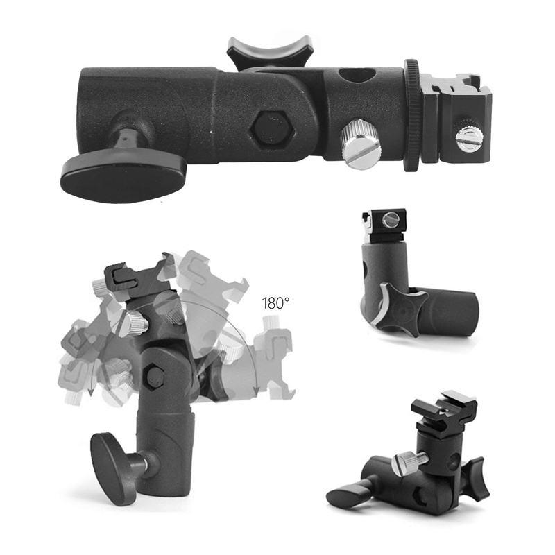Bliț pentru cameră speedlite mount, suport rotativ profesional - Camera și fotografia - Fotografie 4