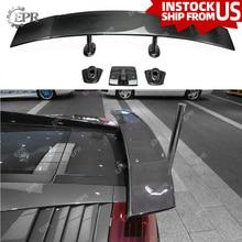For LAMBORGHINI Gallardo LP550 LP570 DMC Toro Style Carbon Fiber Rear Spoiler Body Kits Trim Accessories Wing Lip