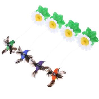 038802-2-3 elektryczne motyle muchowe elektryczne ptaki sprawiają że zabawki dla kotów elektryczne zabawki dla kotów tanie i dobre opinie Automatyczny wyrzutnia piłek CN (pochodzenie) cats Z tworzywa sztucznego The material plastic