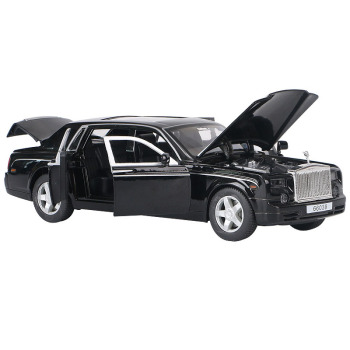 1:32 Scale Diecast Car Model Acousto-Optic Alloy Model Metal Toy Vehicle Sound Light Car Doors Open Pull Back For Kids Toy Gift new arrival gift lp700 matte 1 18 model car collection alloy diecast scale table top metal vehicle sports race decoration toy