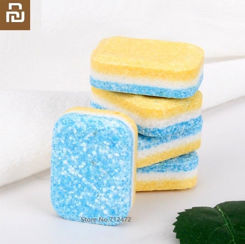 Youpin Clean-n-Fresh Dishwasher Washing Block 30pcs Deep Cleaning Dishwasher Detergent Tablet Cleaning Dishwashing Rinse Block