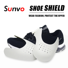 Shoe Shield Sneaker Anti Crease Toe Caps Protector Stretcher Expander Shaper Support Pad Shoes Accessories Dropship Logo Print