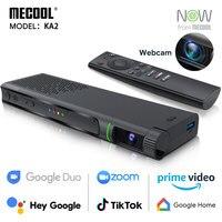TV Box Android 2020 con videocamera HD 1080P S905X4 DDR4 16GB tvbox Smart Media Player per videochiamate Live Show Mecool KA2 ora