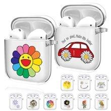 Silicone macio para apple airpods 1 2 bonito fone de ouvido caso capa para airpods 2 vagens de ar 1 airpod caso escudo capa manga
