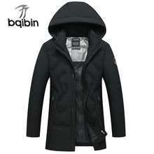 Nieuwe Winter Jas Mannen Dikker Warme Parka Mannen Mode Hooded Casaco Masculino Casual Mannen Jassen Winddicht Uitloper J643(China)