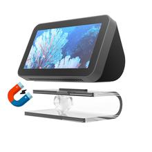 Stojak Audio do Echo Show 8 regulowany przezroczysty stojak akcesoria do montażu w pełni akrylowa podstawa antypoślizgowa do Echo Show 5 tanie tanio NoEnName_Null Speaker stand acrylic