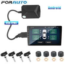 Alarm-System Monitoring-System-Display TPMS Internal-Sensors Tire-Pressure Android USB