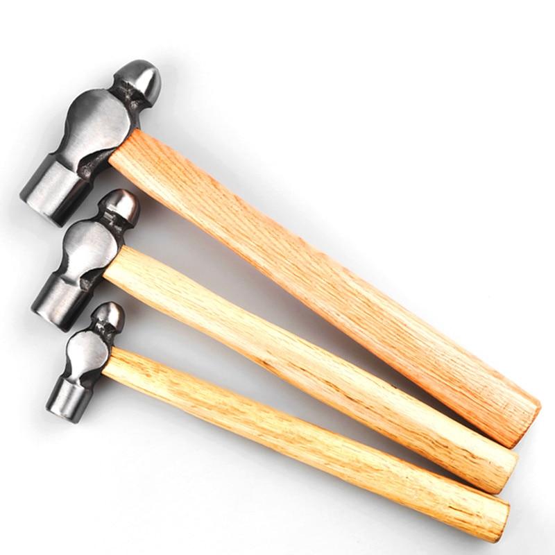 Martillo de cabeza redonda antideslizante con mango de madera, martillo de bola de acero para máquina de carpintería, herramienta manual de reparación 0,5 lb. 1LB.2LB3LB M6 M6 * 16/20/25/30/35/40 M6x16/20/25/30/35/40 304 Acero inoxidable 304ss forma T cabeza de martillo cuadrado tornillo t-cabeza perno