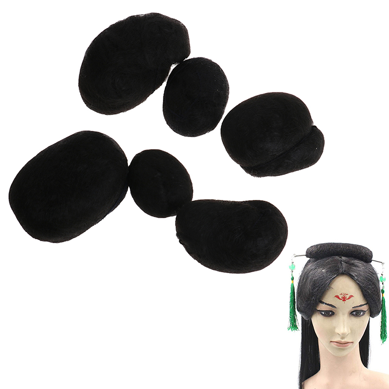 Hair Ball For Braider Additional Instant Beehive Made From 100% Synthetic Hair And Flexible Can Shape And Moulded Desired Style