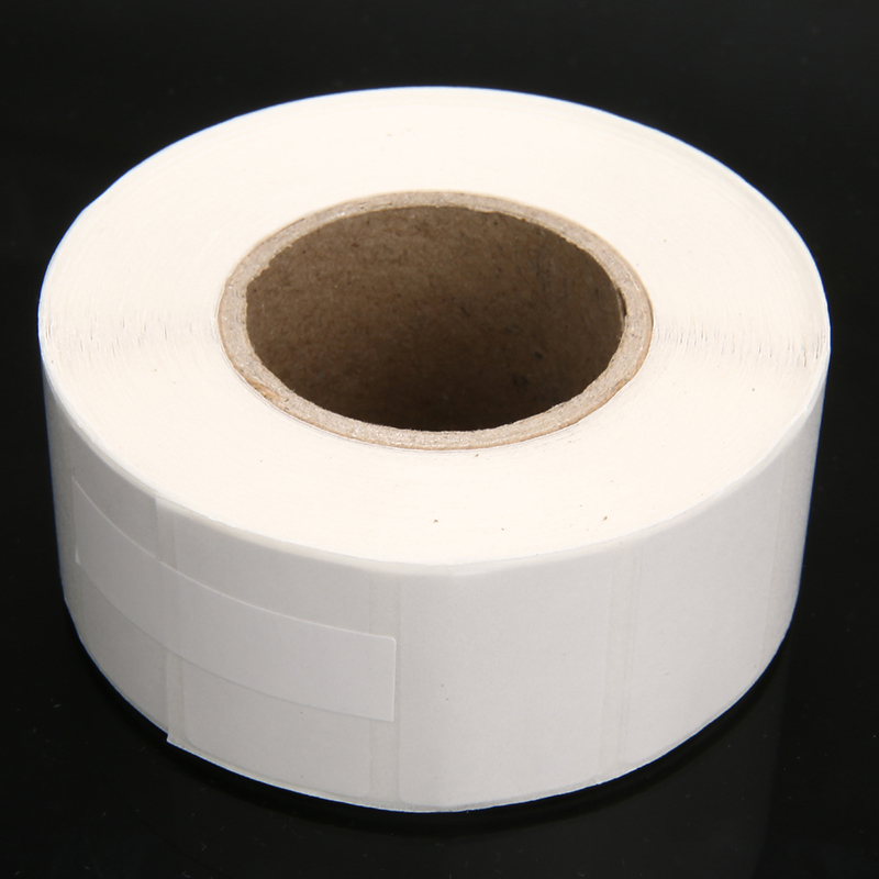 1 Roll 1100pcs Blank White Thermal Labels Rolls Stationery Sticker Paper Self Adhensive School Supplies 30*20mm