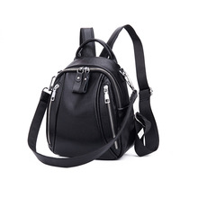 Lady Backpack Genuine Leather Women Backpack Waterproof School Bags for Teenager Girls Mochila Fashion Bags Luxury Bags 2019 New