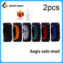 MOD Aegis Solo Cigarette-Box Vaporizer RDA Electronic Original Support 100W Geekvape