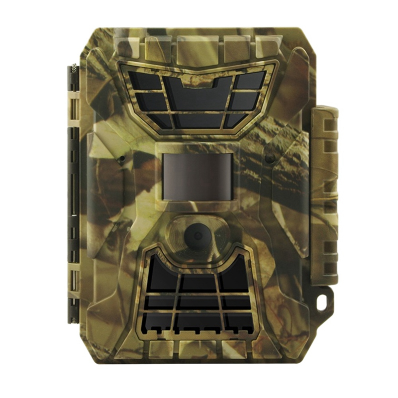 Trail Game Camera, S990 12Mp 1080P Full Hd Hunting Camera 42 Infrared Led Night-Vision Sensor Surveillance 30Fps Digital Wildlif