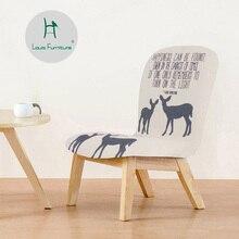Луи мода детские стулья табуреты твердой древесины скамейка, маленькая ткань маленькая задняя простая замена обуви, кормящих, скидка