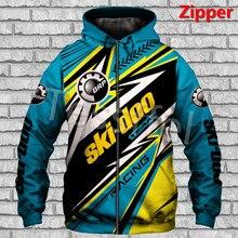 Sudadera com capucha para homem, ropa deportiva com diseño de logotipo 3d can-am, estilo harajuku, alta calidad, hip hop