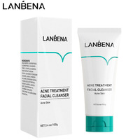 LANBENA Acne Treatment Facial Cleanser Acne Removal Oil Control Shrinking Pores Gentle Clean Pimple Repair Anti Acne Skin Care 1