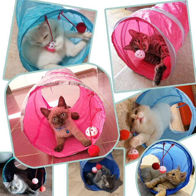 Cat Tunnel Toy  2