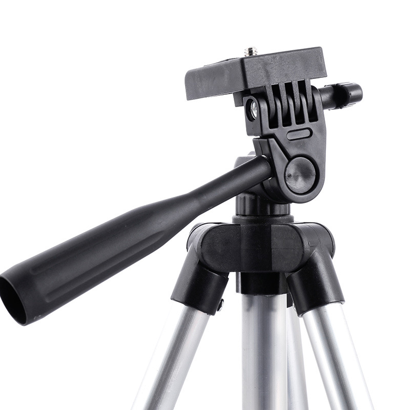 3110 Three Foot Stool Camera Photography Tripod Mobile Phone Fishing Lights Night Fishing with Holder Floodlights     - title=
