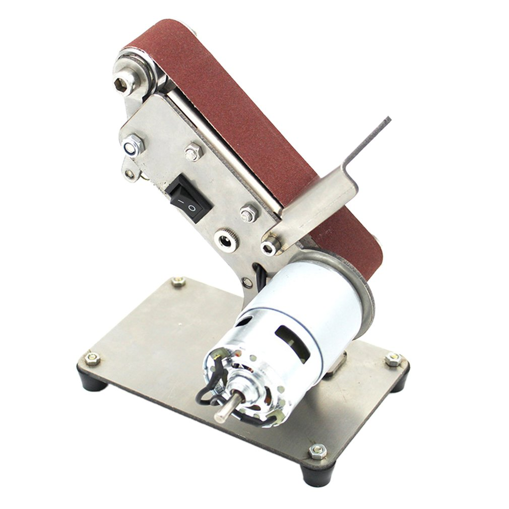 Mini Small Mini Belt Machine Diy Polishing Machine Folding Mini 775 Bare Metal Eu Fixed Angle Sharpening Machine