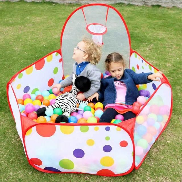 400Pcs/Lot Plastic Ocean Balls Kids Swim Pit Toy Outdoor Fun Dry Pool Wave Game Eco-Friendly Colorful Soft Ocean Sphere  5.5cm