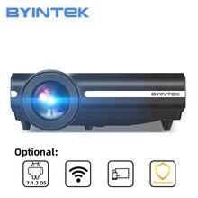 BYINTEK BT96Plus Full HD 1080P 3D 2K домашний кинотеатр ЖК цифровой светодиодный Видеопроектор для 200 дюймового кинотеатра