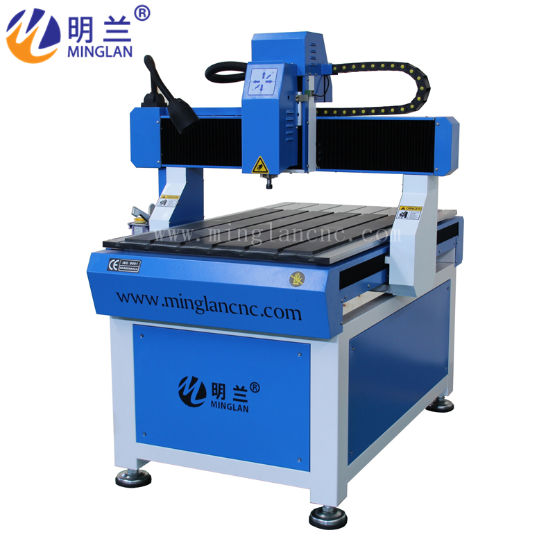 Small Mini Advertising CNC Router 6090 For Wood, MDF