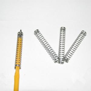 Image 2 - 100 PCS Atacado Personalizado Pequena Caneta Esferográfica Molas de Compressão de Aço Inoxidável Com Preço Baixo