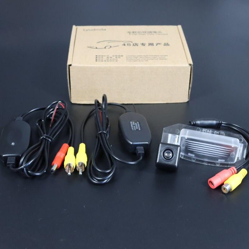 Caméra de recul sans fil pour Mitsubishi Outlander 3 GF GG ZJ ZK 2013 ~ 2020 caméra de vue arrière CCD caméra de stationnement de Vision nocturne