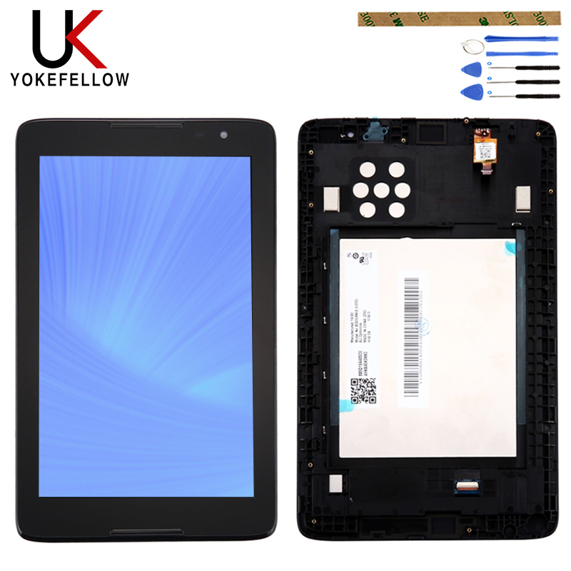 "New 8/"" Lenovo A8-50 A5500 Touch Screen digitizer LCD Display Assembly Frame"