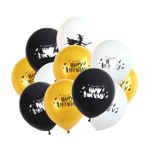 12inch Halloween Latex Balloons Happy Birthday Balloon Halloween Spoof Balloons Party Decoration Baby Shower Party Balloons happy birthday balloon letters 16inch birthday balloons foil balloons decoration for party fd 16