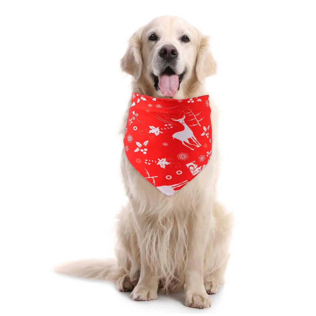Dog Collar Bandana Classic Pet Dog Bandana Cotton Bandana for Small Large Dog Bibs Scarf Washable Bow Tie Pet Grooming Accessories 7