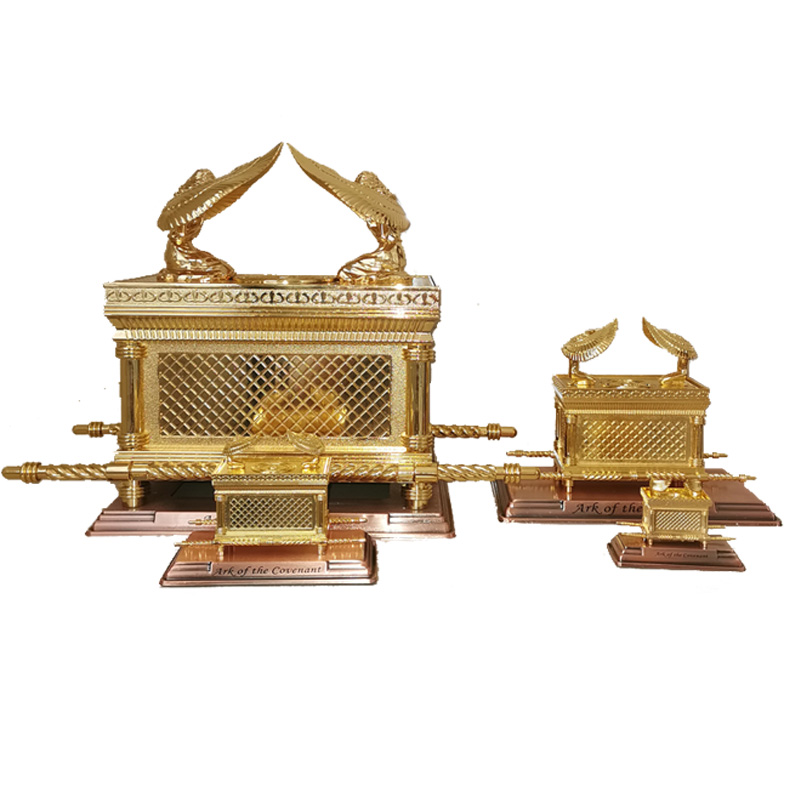 Israel Judaism Alloy Ark Home Classic Ornaments Christian Biblical Supplies Party Gift Table Ark Of The Covenant Ark Of Covenant