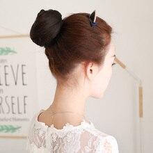 LUPU парик женский тип кожи прямые волосы с шариковой головкой парик с головой бутона цветка реалистичный натуральный парик кольцо бигуди украшение для волос