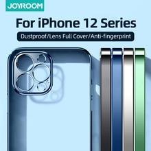 Joyroom Crystal Clear Case Voor Iphone 12 Pro Max Mini Anti Vergeling Shockproof Volledige Lens Dekking Beschermende Telefoon Geval cover