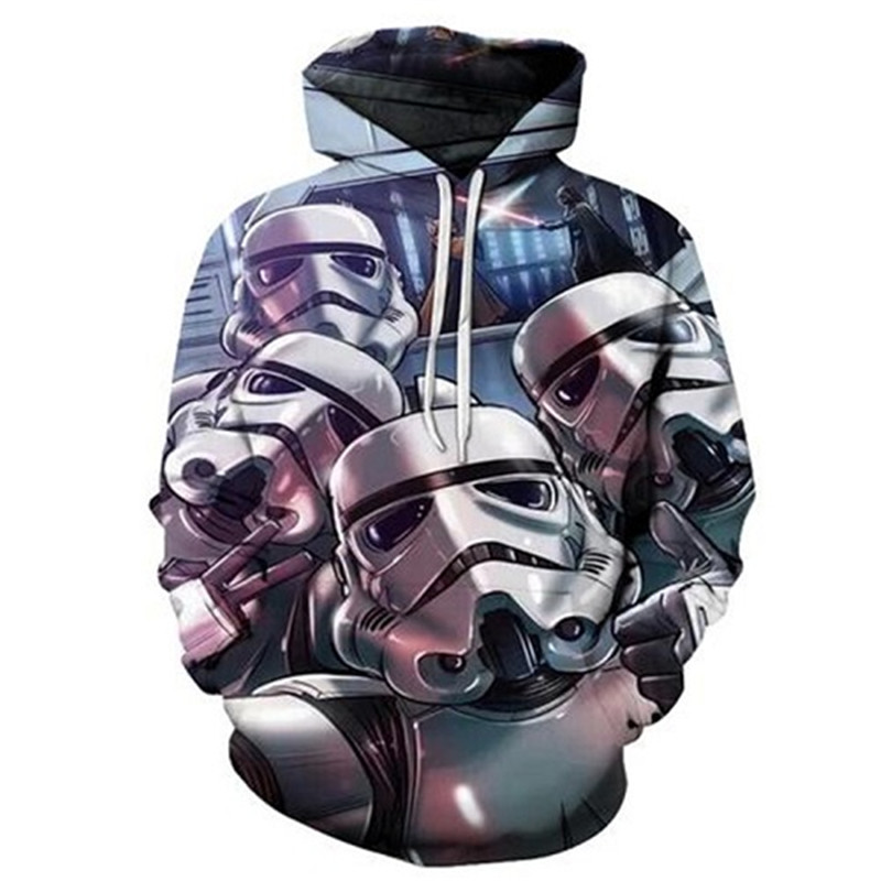 3D Printed Star Wars Hoodies Men&Women 21