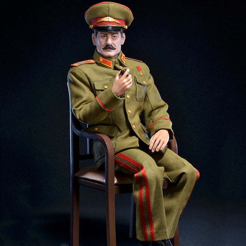 1/6 Scale Soviet Union Stalin President Historical Figures World War II Simulation Wax Figure F12 Action Figure Body Collection image