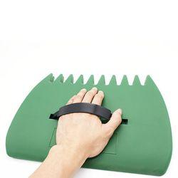 2 sztuk/para ogród stoczni plastikowe Pick Up liść łyżka śmieci kolektor ręcznie grabie 37MD