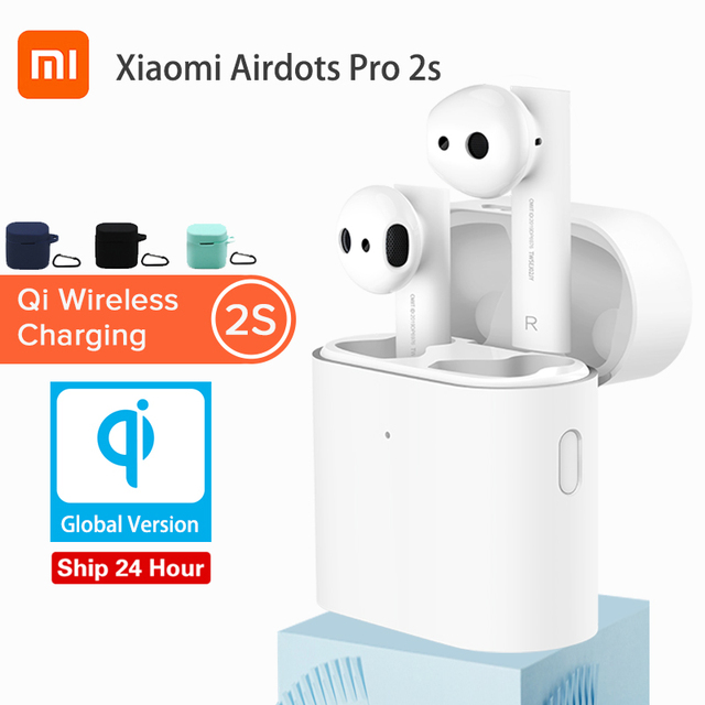 Original Xiaomi Airdots Pro 2 Sหูฟังไร้สายGlobal Version TWS Mi TrueหูฟังAir 2 Sสเตอริโอควบคุมไมโครโฟนหูฟัง