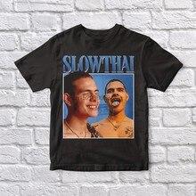 Slowthai 90 vintage unisex camiseta preta