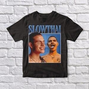 Slowthai 90 Vintage Unisex Black Tshirt