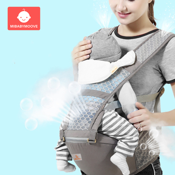 Baby Kangaroo Carrier Ergonomic Baby Strap Backpack Hipseat for Newborn Front Facing Prevent O-type Legs Sling for Baby Travel