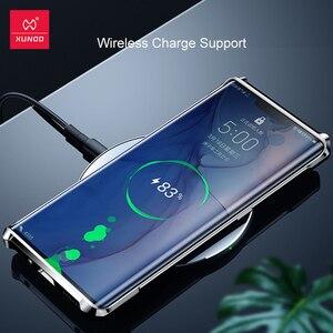 Image 4 - Huawei Mate30 Pro 보호용 에어백 범퍼 커버 용 XUNDD 방습 케이스 Huawei Mate 30 Pro 케이스 용 쉘 유리 렌즈 필름