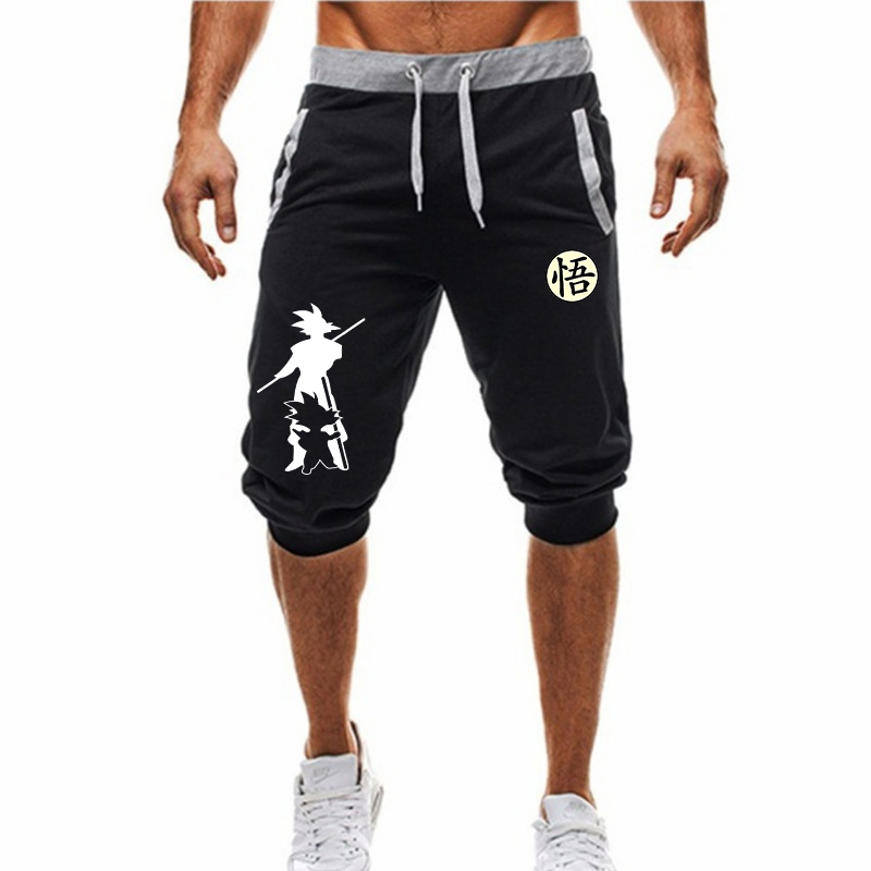 2020 Summer Men's Capri Shorts Casual Mens Beach Shorts Male Trousers homme Brand Clothing Loose Straight Shorts