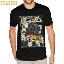Big and Tall Gundam The First T-Shirts Men's Simple Fashion Short Sleeves Man T Shirt Summer 2020 1980S Apparel